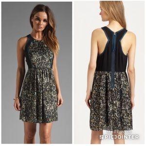 Rebecca Taylor Sequin Print Dress